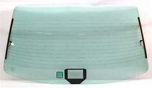 Rear Back Glass Window Windshield 86-92 Vw Jetta Mk2