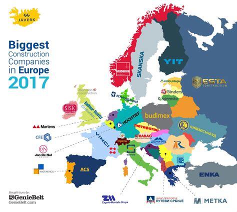 Biggest Construction Companies In Europe  2017 Geniebelt