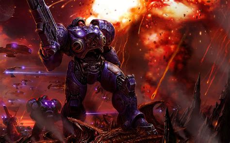 Wallpaper Of Desktop 2 by Starcraft 2 Zerg Wallpaper 73 Images