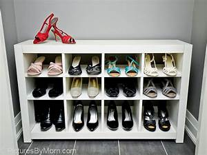 Ikea Hack Expedit : how to build a custom shoe rack from an ikea expedit shelving unit ikea hackers ~ Markanthonyermac.com Haus und Dekorationen
