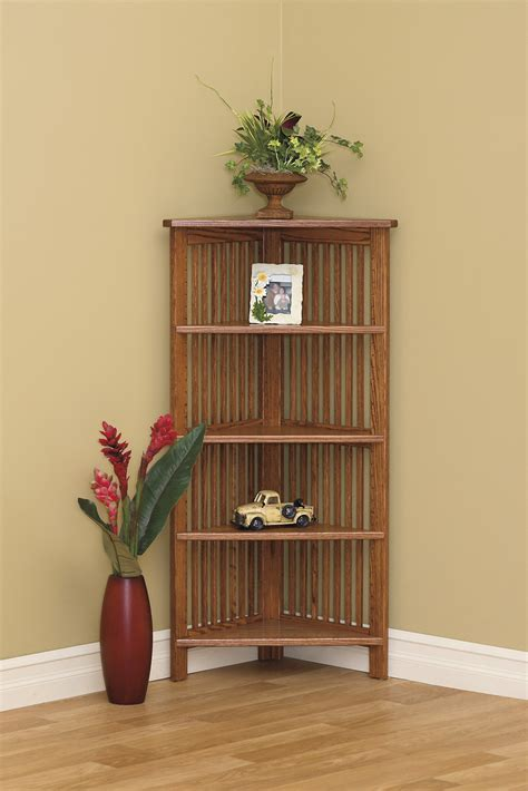 corner bookcase amish furniture connections amish