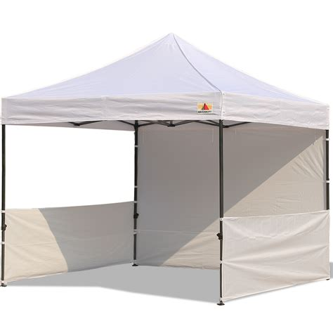 abccanopy deluxe white pop canopy trade show abccanopy