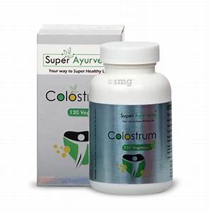 Super Ayurveda Colostrum Capsule  Buy Bottle Of 120 Capsules At Best Price In India