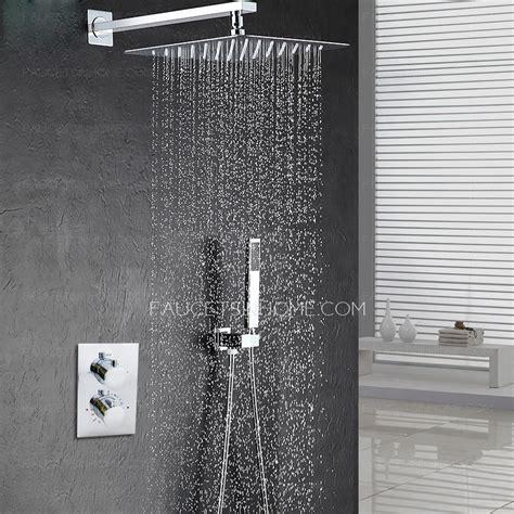 modern  pressurized slim top shower faucet concealed