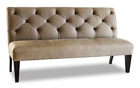 Jhl Design Tufted Leather Banquette 65