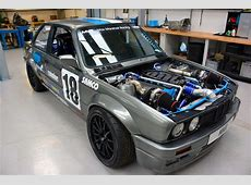BMW E30 with a Twinturbo M60 – Engine Swap Depot
