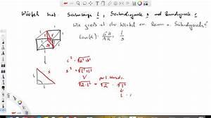 Kräfte Berechnen Winkel : w rfel winkel zw raum und seitendiagonale berechnen youtube ~ Themetempest.com Abrechnung
