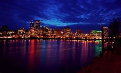 Portland Oregon Desktop Night Cool Pc Sky