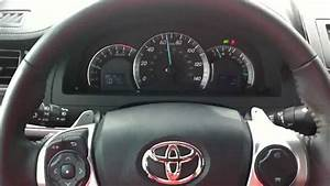 2012 Toyota Camry Se Test Drive Using Paddle Shifters