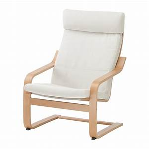 Poang fauteuil finnsta blanc ikea for Fauteuil simple