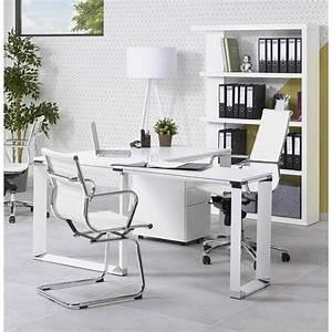 Bureau D Angle Design : bureau d 39 angle design corporate en bois noir ~ Teatrodelosmanantiales.com Idées de Décoration