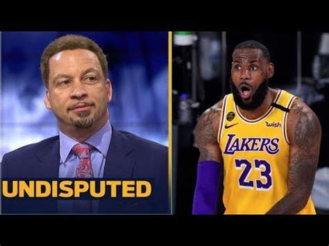 UNDISPUTED | Chris Broussard Impressive LeBron, Lakers def ...