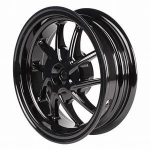 Black Ncy 10 Spoke Rear Rim For Ruckus Scooterworks Usa