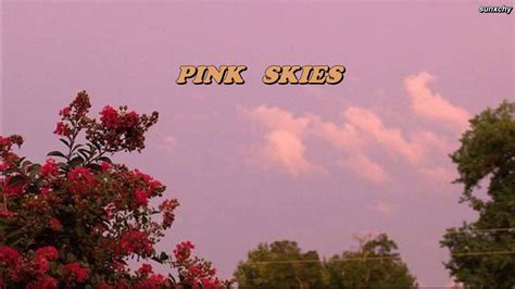 thaisub pink skies lany youtube