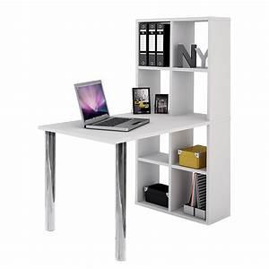 Schreibtisch Mit Regal : schreibtisch regal wei aktenregal b rotisch laptoptisch b roregal tisch neu ebay ~ Whattoseeinmadrid.com Haus und Dekorationen