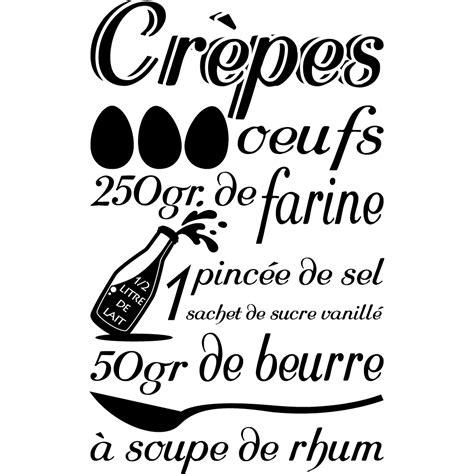 stickers recette de cuisine stickers recette crêpes pas cher