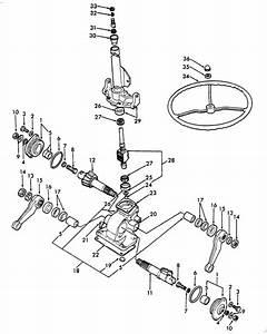 Ford 8n 600 601 800 801 3000 Tractor Steering Eyelet