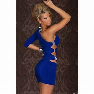 go go one arm mini dress blue on storenvy With robe sexies