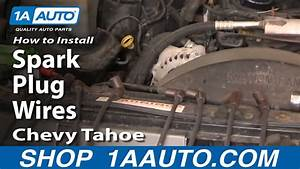 How To Install Replace Spark Plug Wires Chevy Gmc Vortec