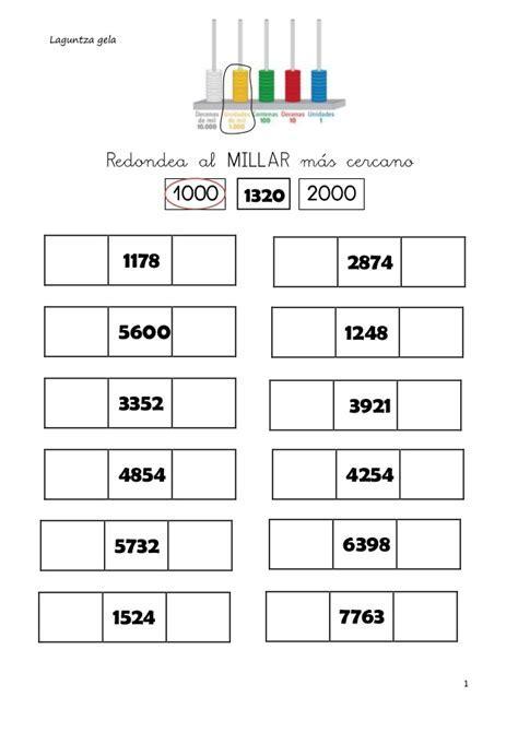 Actividades Para Reconocer La Centena   matematica 4 1
