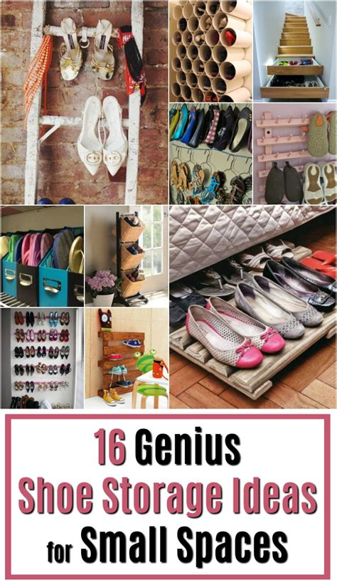 16 Genius Shoe Storage Ideas For Small Spaces  At Muse Ranch