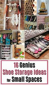 16 Genius Shoe Storage Ideas for Small Spaces - AT MUSE RANCH