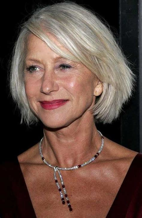 bob hairstyles  older women short hairstyles