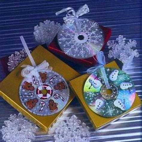 craft for christmas using old cds details with cds crafts