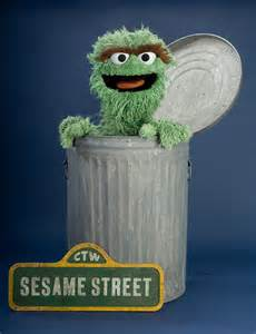 Sesame Street Characters Oscar the Grouch