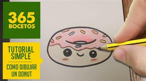 como dibujar un donut kawaii paso a paso dibujos kawaii faciles how to draw a donut kawaii