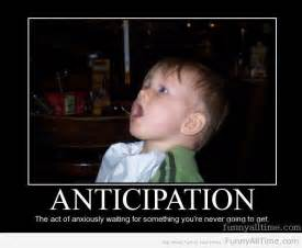 Funny Waiting with Anticipation