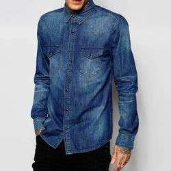 siege the kooples the kooples faded effect denim shirt pradux