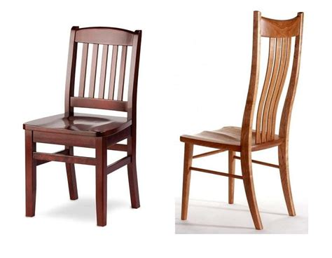 Modern Unfinished Wood Dining Chairs