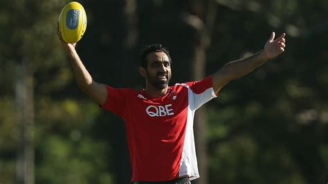 He announced his retirement in 2015. Adam Goodes tipped to pitch opening ball of the Major League Baseball season   The Courier ...