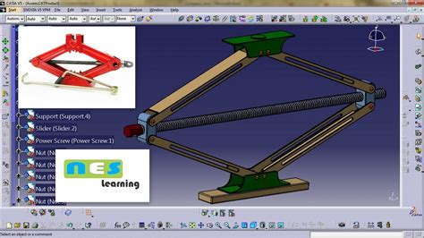 Car Jack (scissor Jack Design Step