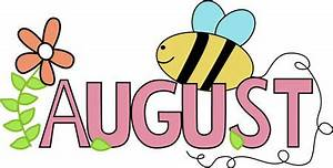 Free Month Clip Art | Month of August Summer Clip Art ...
