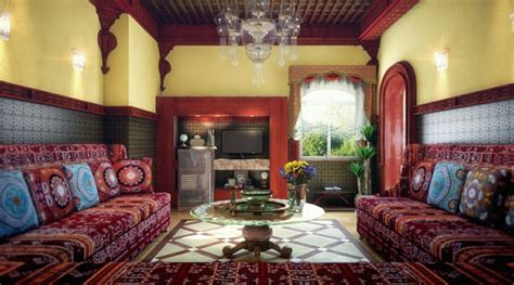 decoration salon sejour marocain