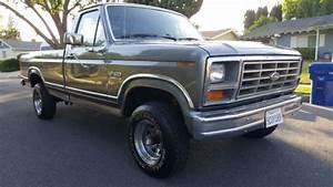 1986 Ford F150 4x4 Xlt Lariat 5 0 Efi 302 V8 Long Bed A  T