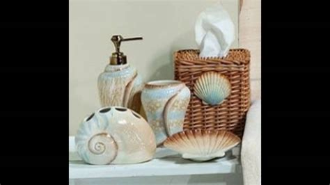 beach theme bathroom decor youtube