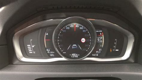 volvo xc   acceleration performance tacho