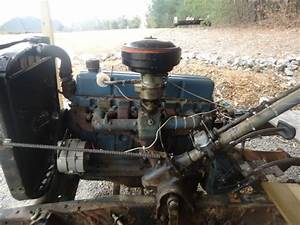 1954 Chevy Chevrolet 1  2 Ton 3100 Pickup Chassis With 235