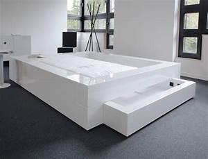 Schlafzimmer Komplett Weiß : schlafzimmer komplett in weissem hochglanz lack rechteck felix schwake ~ Orissabook.com Haus und Dekorationen