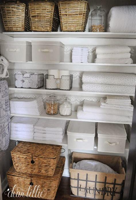 linen closet ideas dear lillie our linen closet makeover