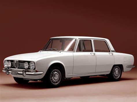 Alfa Romeo 1750 Berlina (105) '1967–69