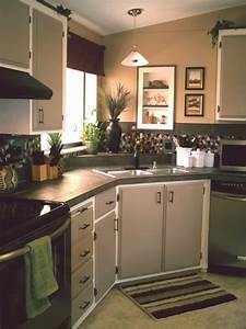 25 best ideas about mobile home kitchens on pinterest for Small mobile home kitchen designs