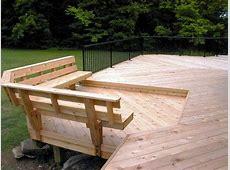 PDF DIY Wooden Deck Railing Bench Plans Download wooden