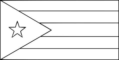 coloriage drapeau cuba  imprimer