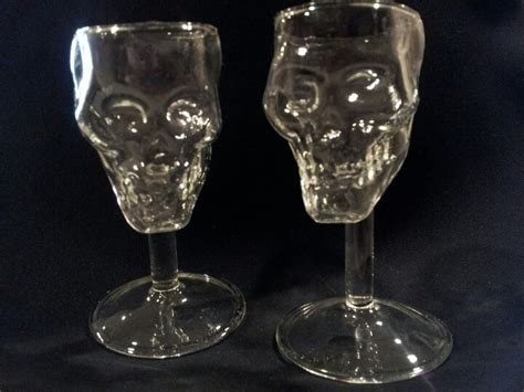 Skull Glasses #glassware #kitchen #home