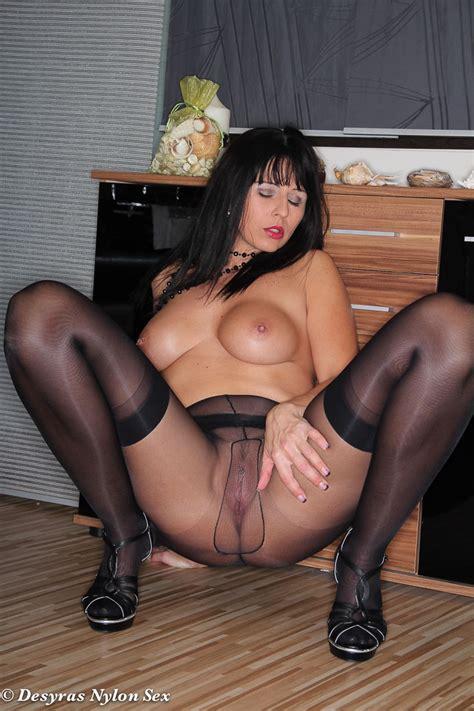 Desyra Noir Sexy German Milf In Stockings And Pantyhose Sex Lingerie Milfs