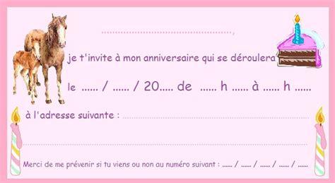 recettes de cuisine simple cartes invitation anniversaire cheval invitation